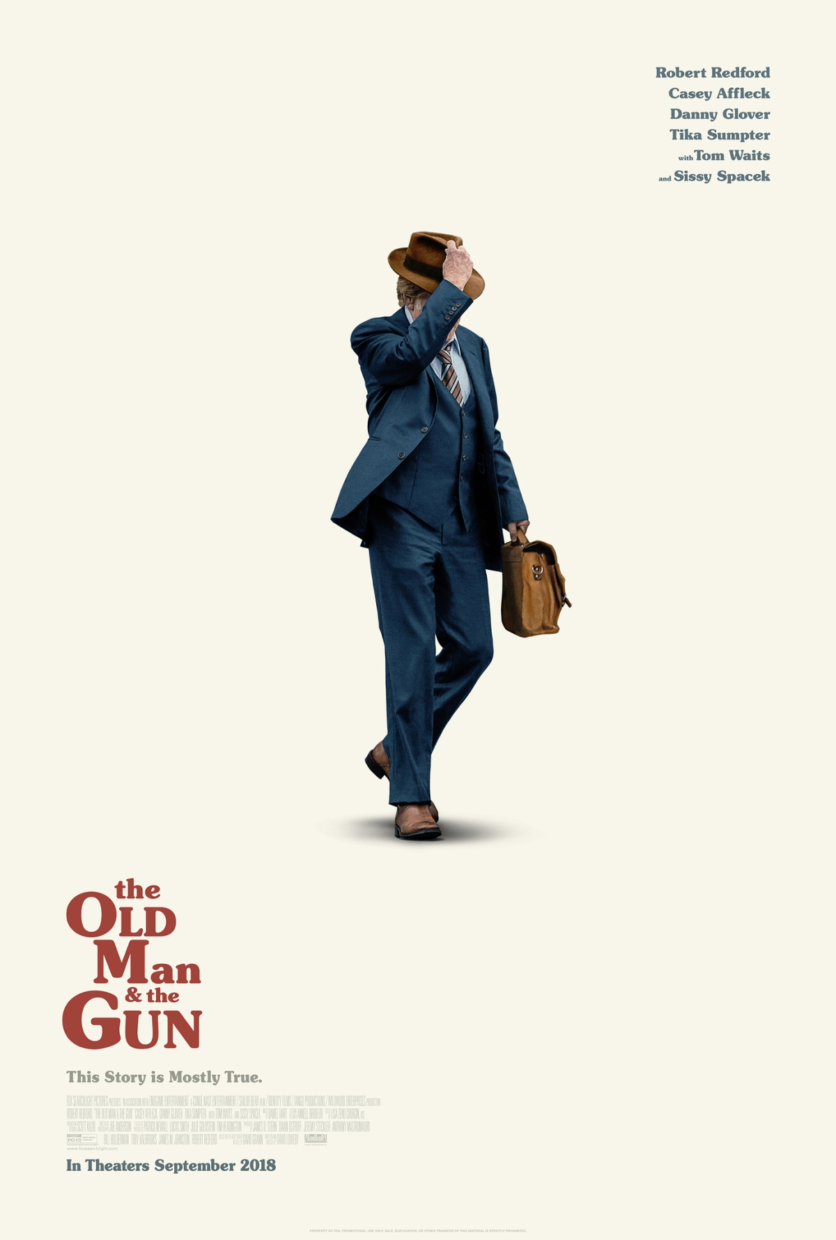 """The Old Man & the Gun"": One-Sentence Review"