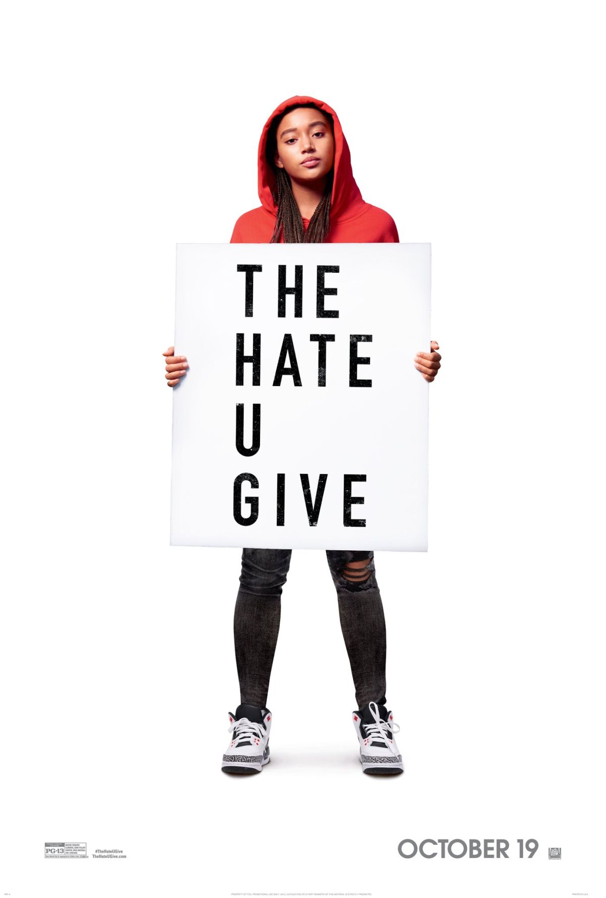 """The Hate U Give"": One-Sentence Review"