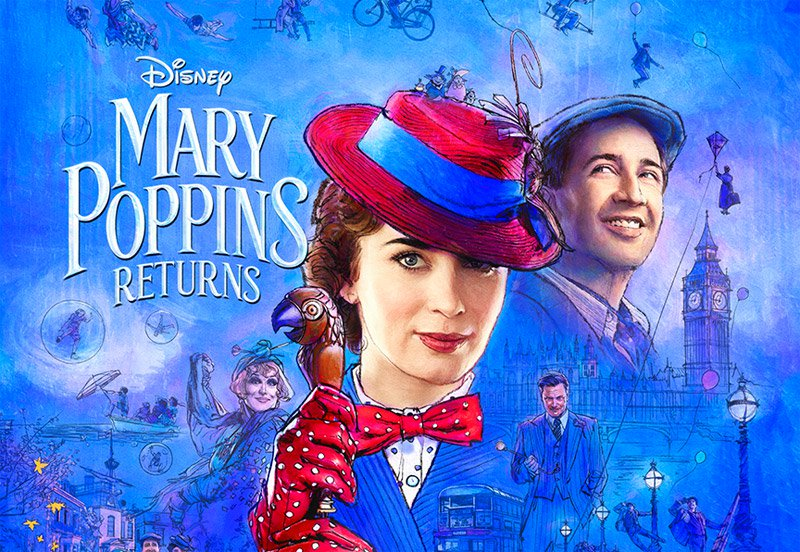 """""""Mary Poppins Returns"""": One-SentenceReview"""