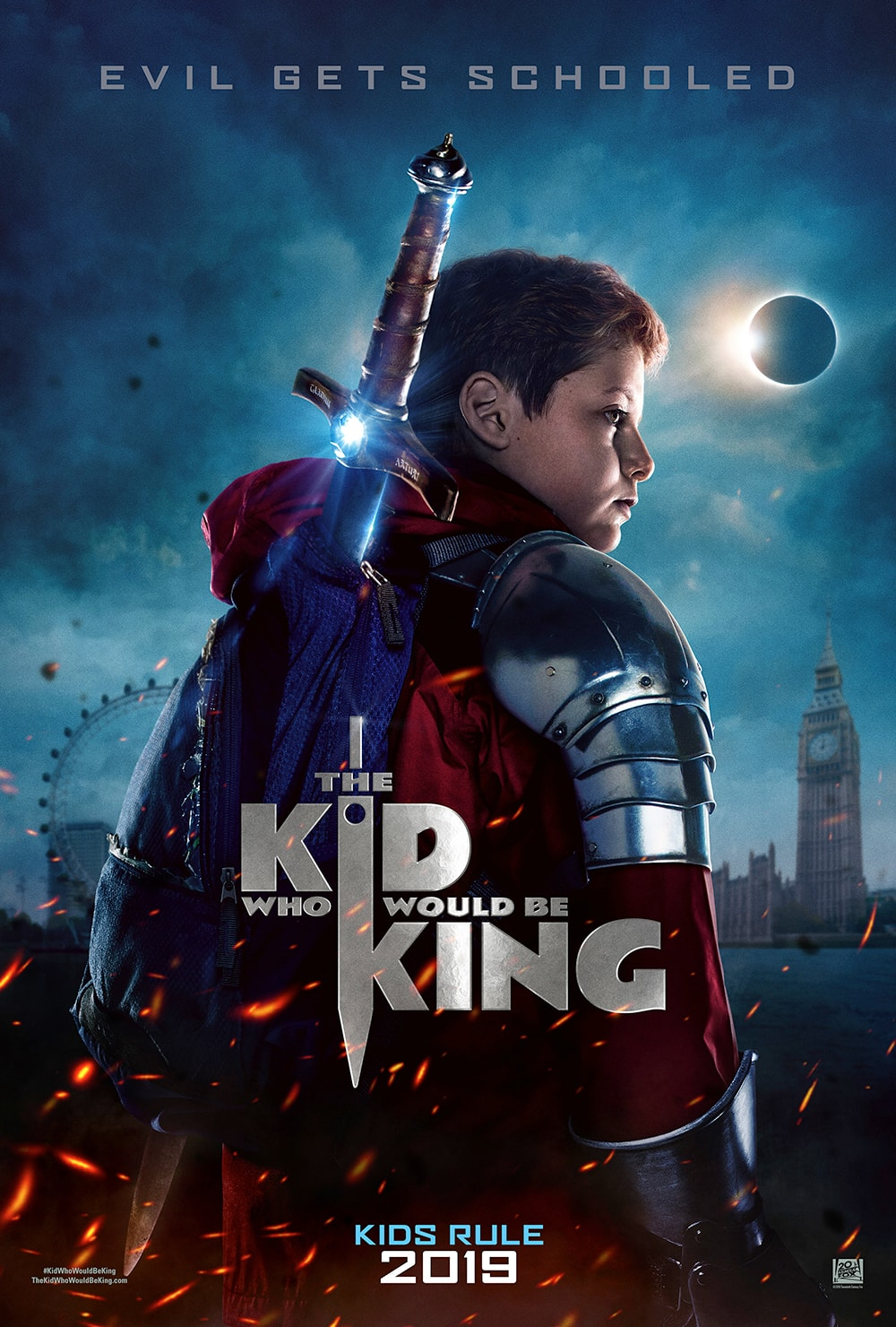 """The Kid Who Would Be King"": One-Sentence Review"