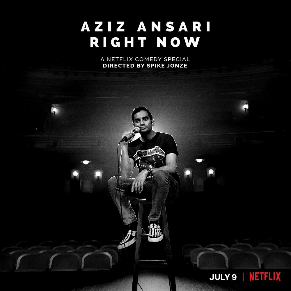 """Aziz Ansari: Right Now"": One-SentenceReview"