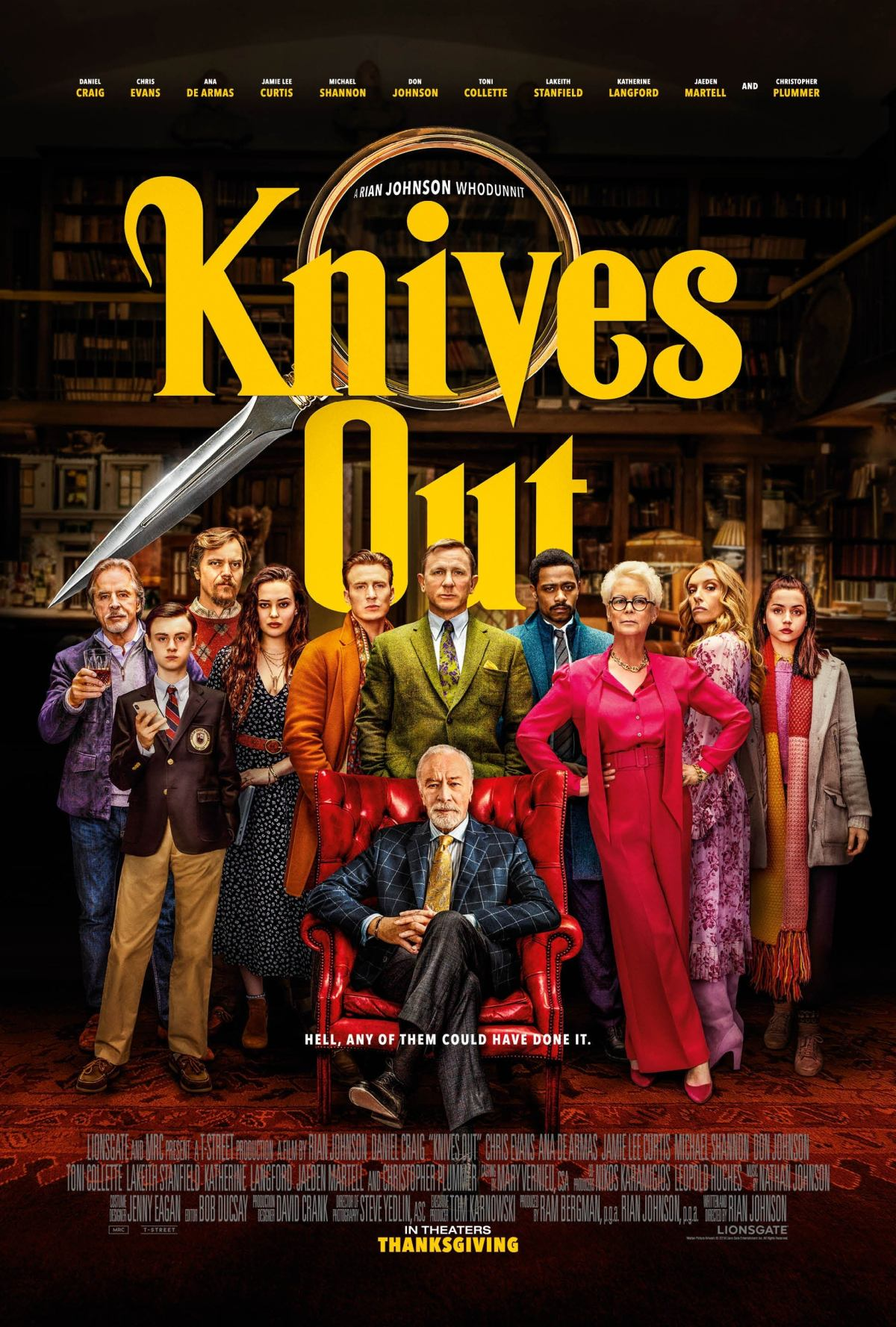 """Knives Out"": One-Sentence Review"