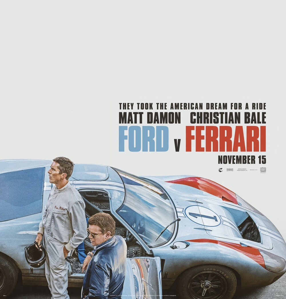 """Ford v Ferrari"": One-Sentence Review"