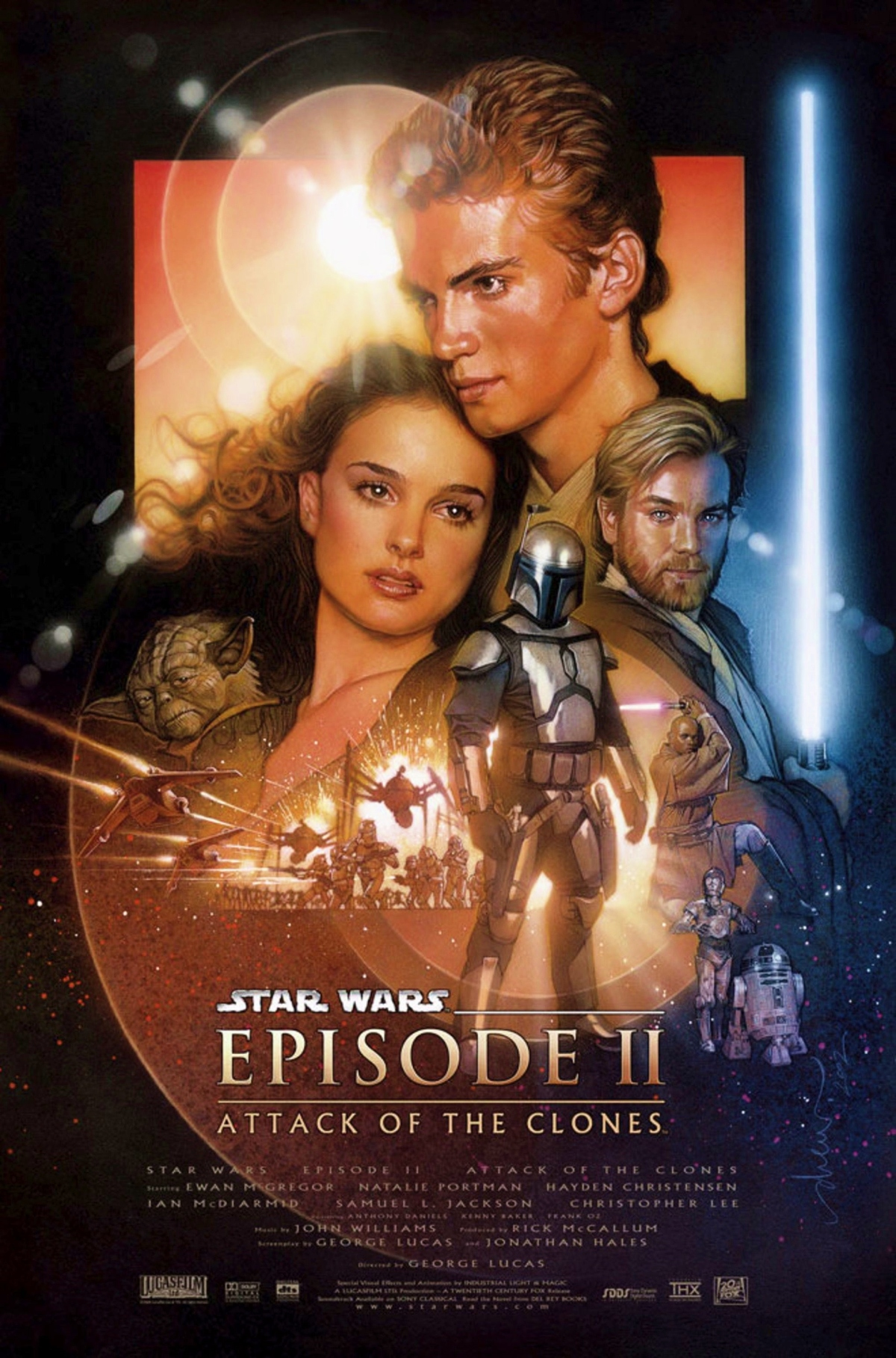 """Star Wars: Episode II-Attack of the Clones"": Throwback-Tamales Review"