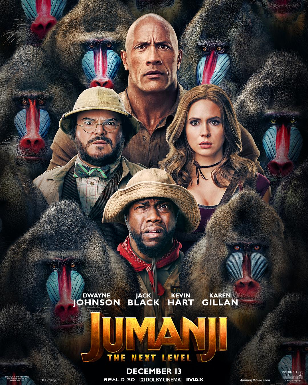 """Jumanji: The Next Level"": One-Sentence Review"