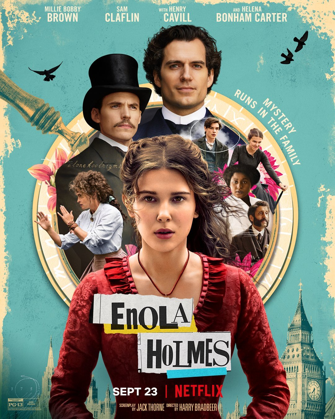 """Enola Holmes"": One-SentenceReview"