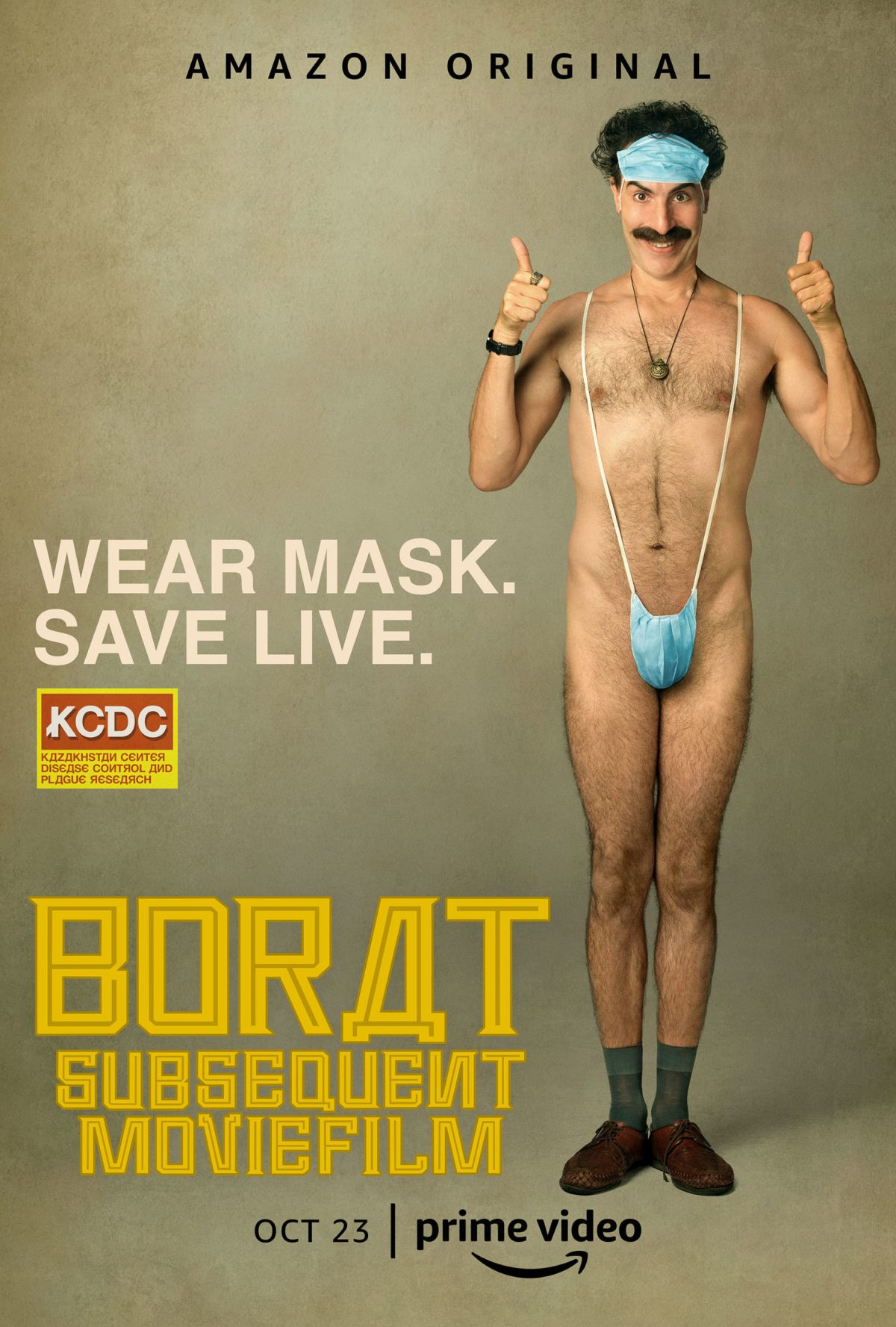 """Borat Subsequent Moviefilm"": One-Sentence Review"