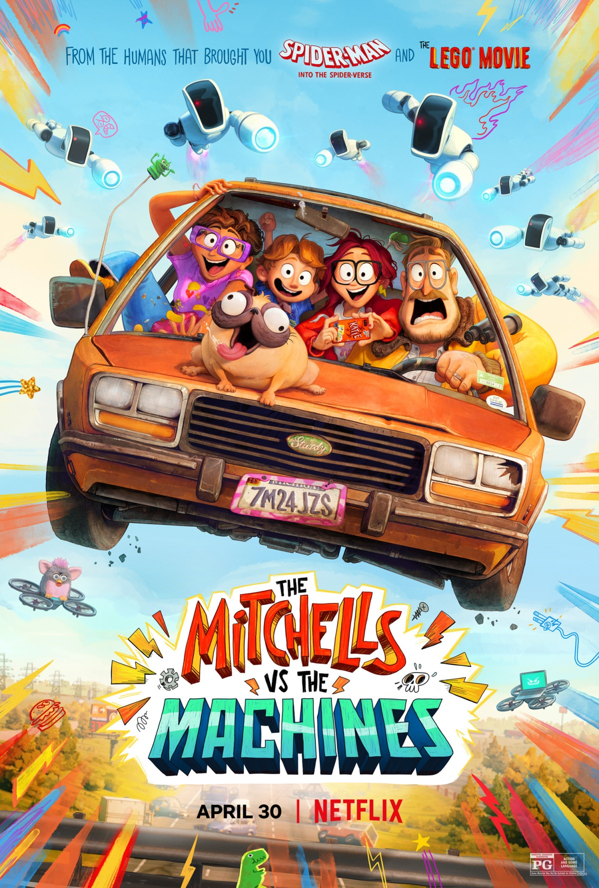"""""""The Mitchells vs. the Machines"""": One-SentenceReview"""