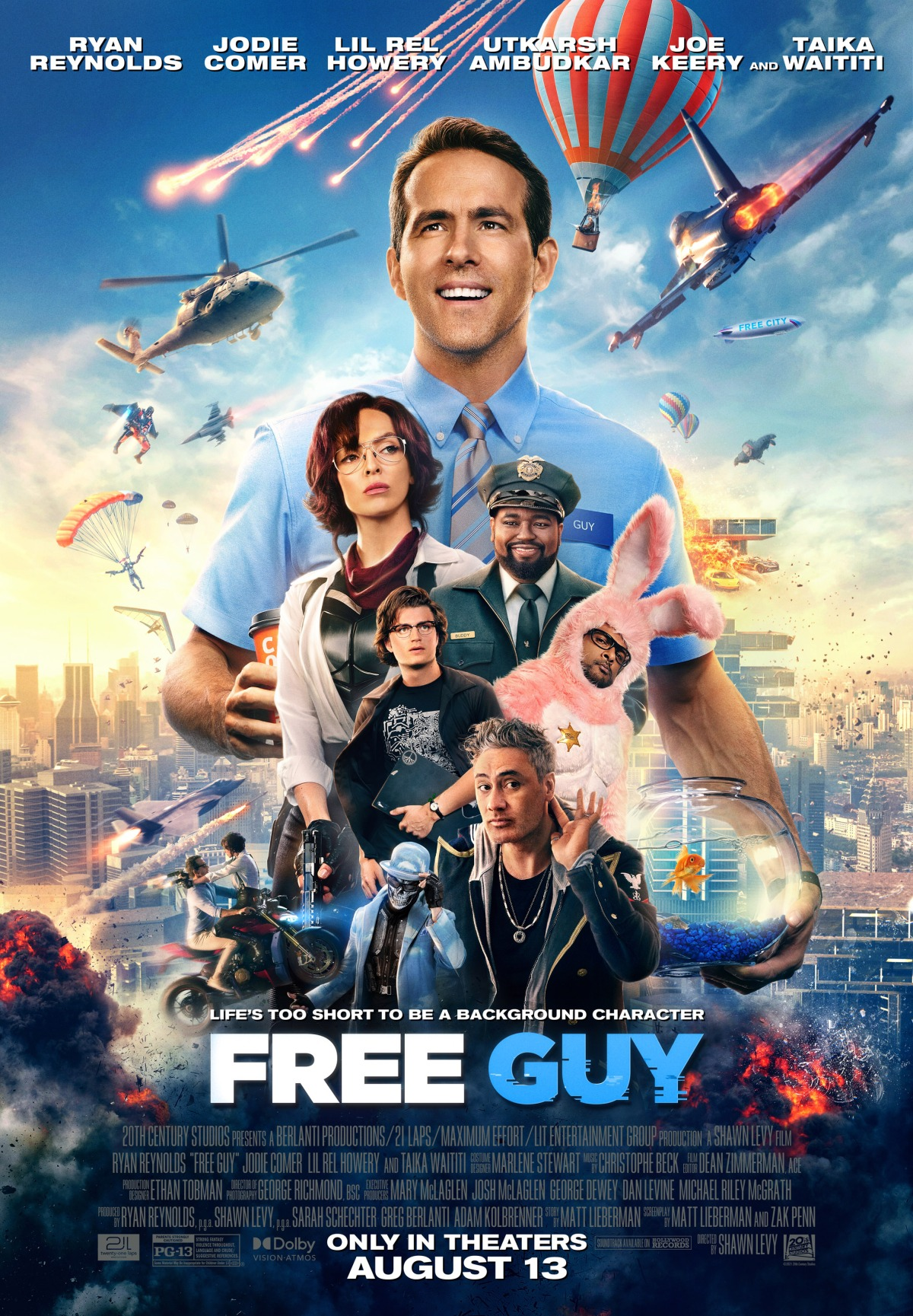 """""""Free Guy"""": One-SentenceReview"""