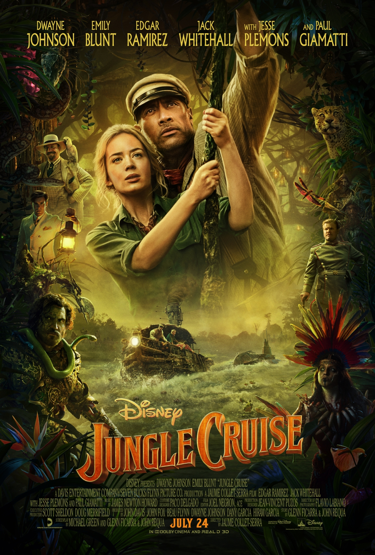 """""""Jungle Cruise"""": One-SentenceReview"""